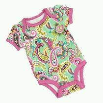 Vera Bradley Infant Baby Girl Ruffle Bodysuit Photo