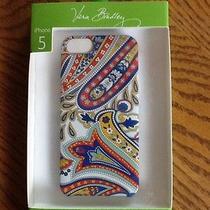 Vera Bradley Iphone 5 Case-Marina Paisley Photo