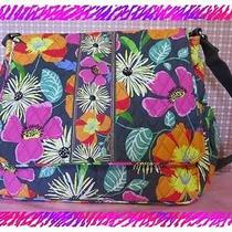 Vera Bradley Jazzy Bloom Messenger Baby Diaper Bag Handbag Nwtag Photo