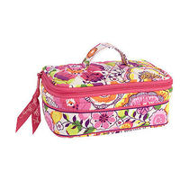 Vera Bradley Jewelry Case Travel Bag Clementine Photo