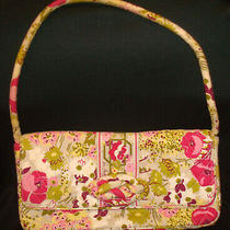 Vera Bradley Knot Just a Clutch Make Me Blush Shoulder Handbag Purse Bag W/strap Photo