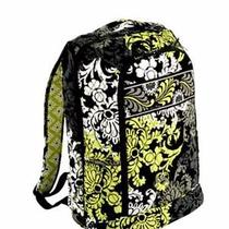 Vera Bradley Laptop Backpack in Baroque Fast Shipping Photo