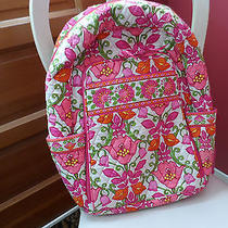 Vera Bradley Laptop Backpack Large Computer Bag in Lilly Bell Photo