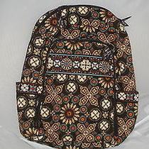 Vera Bradley Laptop Backpack Nwt Canyon Photo