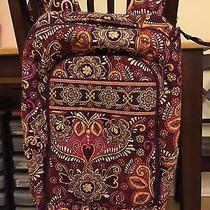 Vera Bradley Laptop Backpack Safari Sunset Retired Photo