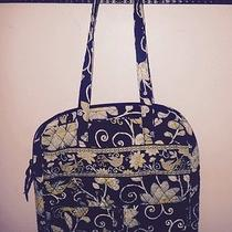 Vera Bradley Laptop Bag in Yellow Bird Excellent Pre Owned Condition Photo