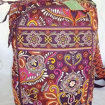 Vera Bradley Large Backpack or Schoolbag Laptop Slot - Safari Sunset  - New Photo