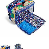Vera Bradley Large Pop Art Blush and Brush Makeup Case No Reserve  Photo
