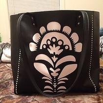 Vera Bradley Laser Cut Accordian Tote and Wallet Photo
