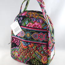 Vera Bradley Let's Do Lunch Symphony in Hue Cooler Box Purse Insulated Cold Bag Photo