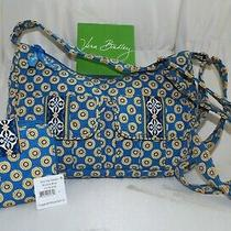 Vera Bradley Libby Crossbody Purse & Nwt Wallet Too - Riviera Blue - Both New Photo