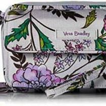 Vera Bradley Lighten Up All in One Crossbody Purse With Rfid Lavender Botanical Photo