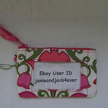 Vera Bradley Lilli Bell Zip Id/key Ring/case New With Tags Usa Seller Free Ship Photo