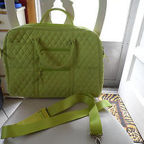 Vera Bradley Lime Green Microfiber Computer Bag Photo