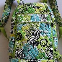 Vera Bradley Limes Up Backpack School Book Bag With Computer Section Photo
