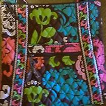 Vera Bradley Lola Brown Pink Blue Floral Hipster Cross Body Bag Purse New Photo