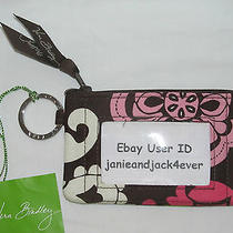 Vera Bradley Lola Zip Id/key Ring/case New With Tags Usa Seller Free Shipping Photo