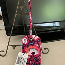 Vera Bradley Luggage Tag in Bloom Berry - Nwt Lovely Bold Colors Msrp 15 Photo