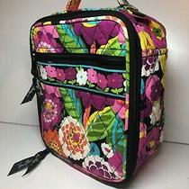 Vera Bradley Lunch Bunch Lunch Bag Va Va Bloom Used Once One Smudge Inside Photo