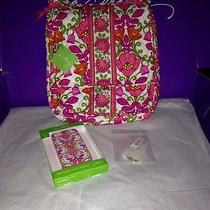 Vera Bradley Mailbag Iphone 5 Case & Tote Around Keychain Nwt Photo