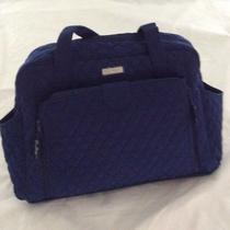 Vera Bradley Make a Change Baby Bag Classic Lapis Blue Nwt Photo