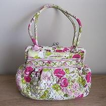Vera Bradley Make Me Blush Alice Kiss Lock Handbag Pink Purse   Photo