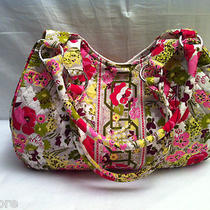 Vera Bradley Make Me Blush Retired Summer 2010 Shoulder Bag Hobo Shopper Purse Photo