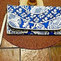 Vera Bradley Making Waves Wristlet Clutch in Blue Lagoon Photo