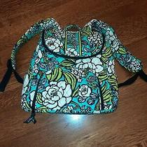 Vera Bradley Medium Backpack Island Blooms Excellent Cond.  Photo