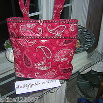 Vera Bradley Mesa Red Tote Bag Photo