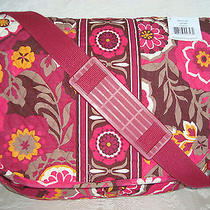 Vera Bradley Messenger Bag - Book - Laptop - Carnaby- Great Condition Photo
