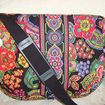 Vera Bradley Messenger Bag - Book - Laptop - Symphony in Hue  Brand New With Tag Photo