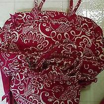 Vera Bradley Metropolitan Bag Twirly Bird With Cinch Photo