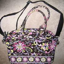Vera Bradley Metropolitan Laptop Tote in Purple Punch Photo