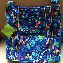 Vera Bradley Mickey and Minnie Mouse Disney Dreaming Hipster Bag 5 Photo