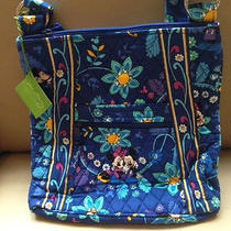 Vera Bradley Mickey and Minnie Mouse Disney Dreaming Hipster Bag 4 Photo