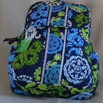 Vera Bradley Mickey Mouse Where's Mickey Backpack Nwt Free Earrings  Shipping  Photo