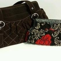 Vera Bradley Microfiber Purse & Wristlet Photo