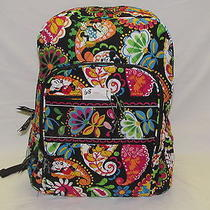 Vera Bradley Midnight With Mickey(68) Campus Backpack (125) Free Ship  Photo