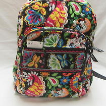 Vera Bradley Midnight With Mickey(69) Campus Backpack (125) Free Ship  Photo