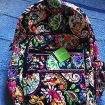 Vera Bradley Midnight With Mickey Campus Backpack Photo