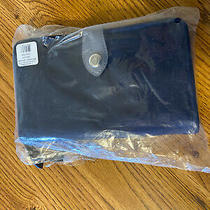 Vera Bradley Midtown Rfid Snap Tab Wallet in Classic Navy. New With Tags Photo