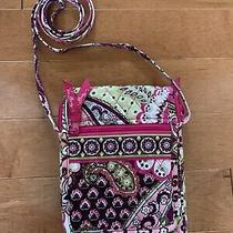Vera Bradley Mini Hipster Purse Bag Crossbody Very Berry Paisley Retired Pattern Photo