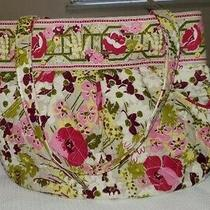 Vera Bradley Morgan Bucket Bag/purse in Make Me Blush Print - Retired Photo