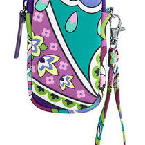 Vera Bradley Neoprene Tech Iphone Wristlet in Heather Nwt Photo