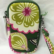 Vera Bradley  Neoprene Tech Wristlet in Olivia Pink Iphone Camera Ipod Photo