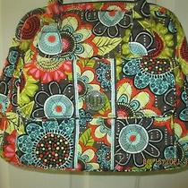 Vera Bradley New Large Hobo Shoulder Bag W/ Turn Lock & Zipper Exterior Pockets  Photo
