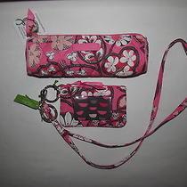 Vera Bradley New With Tags Blush Pink 3pcs Set Free Shipping Photo