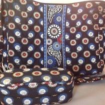 Vera Bradley Night Owl on the Go Hobo Purse and Glasses Case Photo
