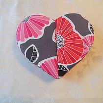 Vera Bradley Nip Heart to Heart Jewelry Case Cherry Blossoms Photo